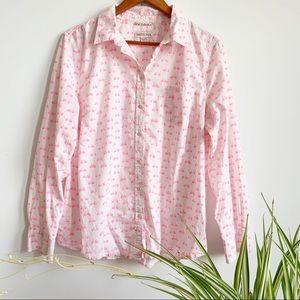 Merona Bicycle 🚲 Button Down Shirt Size XXL